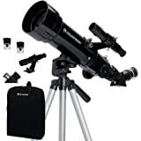 Celestron - Télescope de voyage 70 mm - Télescope réfracteur portable - Optique en verre entièrement enduit - Télescope idéal