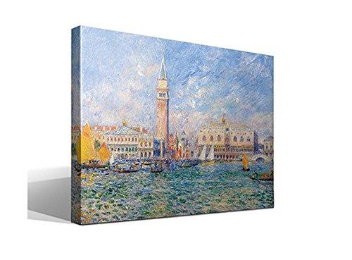 Cuadro Canvas Palacio Ducal Venecia Oscar Claude Monet