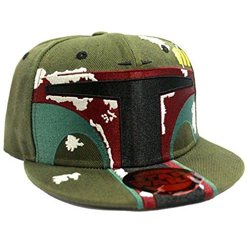 Star Wars Snapback Cap - Boba Fett Helmet