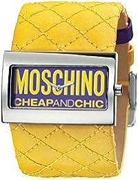 MOSCHINO - Reloj MW0015, color mostaza