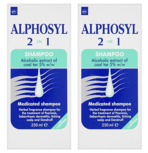 Alphosyl 2-in-1 Medicated Shampoo 250ml (2 PACKS)