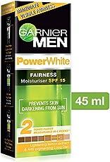 Garnier Men Power White Fairness Moisturiser SPF 15, 45gm