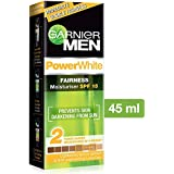 Garnier Men Power White Fairness Moisturiser SPF 15, 45gm