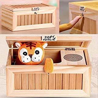 Skisneostype Lovely Tiger Don't Touch Useless Box Leave Me Alone Machine Toys For Best Gifts