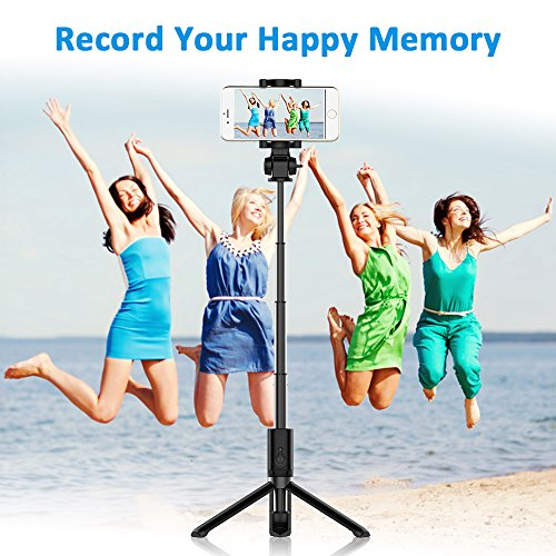 Bovon Palo Selfie Bluetooth, Palo Selfie Stick Monopod Plegable, Extensible...