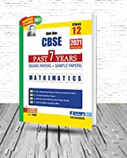 Shivdas CBSE Past 7 Years Solved Board Papers and Sample Papers for Class 12 Mathematics (As per 2021 CBSE Red