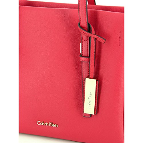 Calvin Klein - Sac à main Tote Marissa (k60k602131) taille 25 cm lipstick red