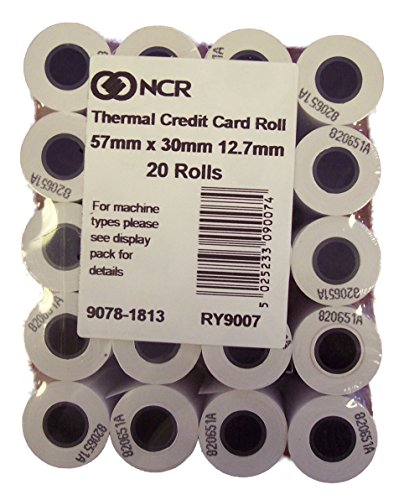 Rollos papel NCR, 57x 30mm, Chip N pin, juego