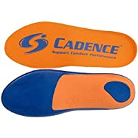 Cadence Insoles Orthotic Shoe Insoles ((E) Men 8-9 WOMEN 9-10, Orange) by Cadence preisvergleich bei billige-tabletten.eu