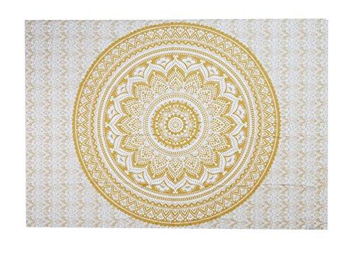 Tapisserie Murale Tenture Indienne Mandala Tapis Mural Indien Boheme Tissu Mural Tentures Murales Indiennes Toile Murale Mandala Motif Tapisserie Hippie Chambre Decorative Serviette De Plage Couvre Lit Mandala Drap De Plage Ethnique Tapestry Tapis De Yoga 150CM X 150CM