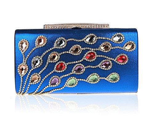 borsa signora diamante/clutch Exquisite/Di alta qualità per banchetti/borsa da sera di moda/pacchetto abito nuziale-F F