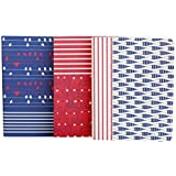 Doodle Set of 3 Between the Lines Diaries, Soft Paper Cover Notebooks (6.25 X 4.75 Inches) ...