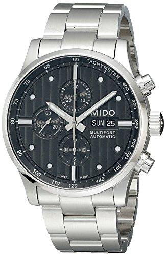 Mido M0056141106100 Montre automatique pour hommeMultifort Chronograph sur base Valjoux
