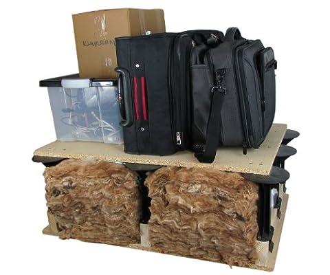 LOFT STORAGE LFTSTRPLN002 Stilts Box - Black (Pack Of 32)
