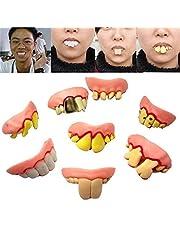 Futaba 8PCS/ Set Cosplay Halloween Decor Props False Teeth