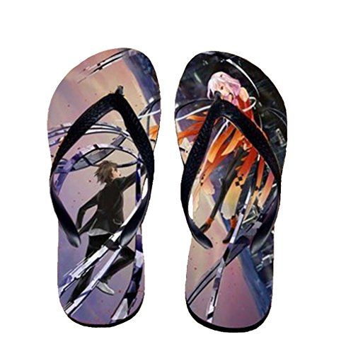 Bromeo Guilty Crown Anime Unisexe Flip Flops Tongs 525