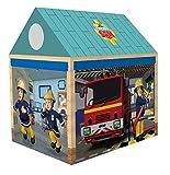 John 78203 - Feuerwehrman Sam Feuerwehrhaus, 72 x 95 x 102 cm