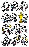 AVERY Zweckform 53392 Kinder Sticker Fußbälle 30 Aufkleber