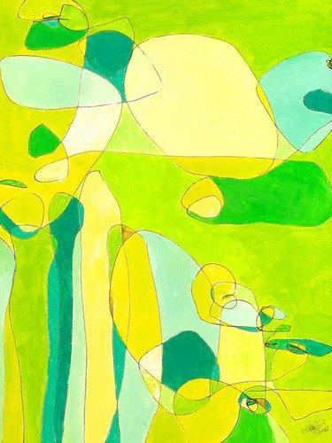 24 Zeitgenössische Leinwand (GreenBox Art + Kultur grün Hirsch Milben von Jennifer Mercede Leinwand Wand Art, 24von 30)