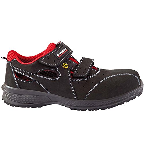 Giasco 71N93C36 Haiti Sandale S1P Taille 36 Noir/Rouge