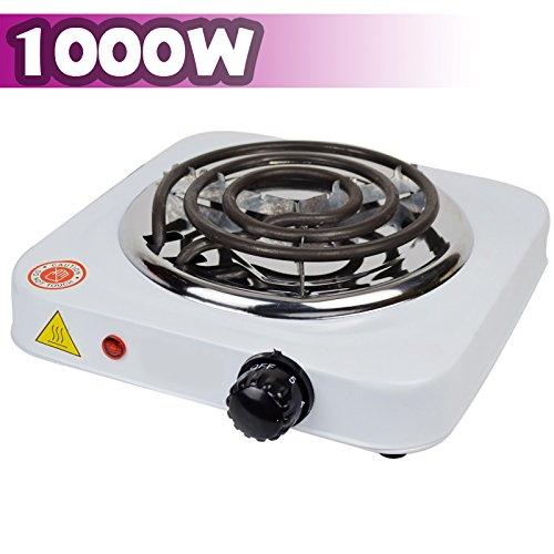 Encendedor de carbón eléctrico Shisha carbón-grabadora para barbacoas en 1000 W V&V Noyan