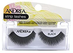 36 Black : Andrea Style Eyelashes, 36 Black