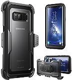 Samsung Galaxy S8+ Plus Hülle, i-Blason [ArmorBox Serie] Case / Cover / Schutzhülle ohne integriertem Displayschutz (2017 Release) (schwarz)