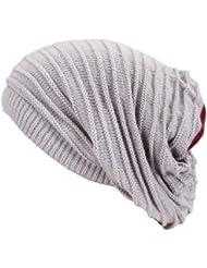 """""""Manon"""" Loop Scarf Buff et Bonnet long dans un - long cou surdimensionné Bonnet d'hiver bonnet de ski de snowboard oversize chaude écharpe de chapeau hommes et les femmes unisexe hiver Automne / Hiver 2013/14 (gris clair)"""