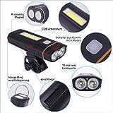 Baytter Fahrradbeleuchtung Set - 4