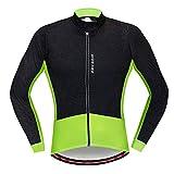 SHINYEVER Calda Giacca Ciclismo Uomo e Donne, Bicicletta Jersey,Equitazione Traspirante Ciclo Giacca Abbigliamento Bici a Maniche Lunghe Vento Cappotto (L)