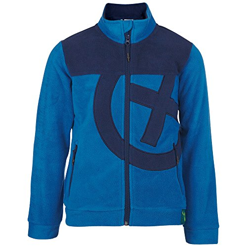 Chiemsee Kinder Buddy J Ki Fleecejacket Boys, Snorkel Blue, 164
