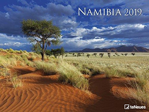 Namibia - Kalender 2019 - teNeues-Verlag - Fotokalender - Wandkalender mit eindrucksvollen Landschaftsaufnahmen - 64 cm x 48 cm
