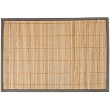 Levivo Platzset aus Bambus im 4er-Set, Beige