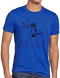 style3 Da Vinci Rock T-Shirt Homme musique festival rock tape