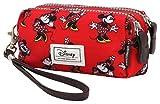 Disney Classic Minnie Cheerful Beauty Case, 14 cm, Rosso (Rojo)
