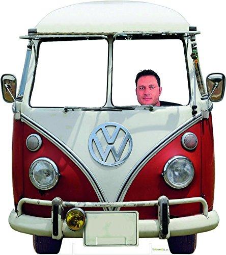 Oedim Photocall Coche Volkswagen Clásica para Bodas 1,50x1,70cm | Photocall Divertido para Bodas, Cumpleaños, Eventos. | Photocall Furgoneta Volkswagen Resistente