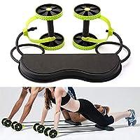 Sevia Ab Care Xtreme Fitness Resistance Exerciser/Revoflex/Resistance Tube Ab Slimmer/Rope Exerciser, Black/Green