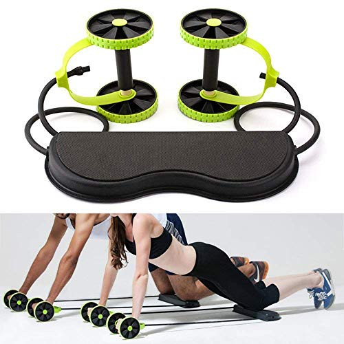 Creatif Ventures Foldable Revoflex Xtreme Rally Multifunction Pull Rope Wheeled Health Abdominal Muscle Training Home Fitness Equipment