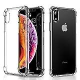 AINOPE Hülle für iPhone Xr 6.1, Crystal Schutzhülle iPhone Xr Handyhülle, Ultra Dünn Premium Kristall TPU Bumper Case Anti-Shock Weich Kratzfest Hülle für iPhone Xr Case Cover (2018) (Transparent)