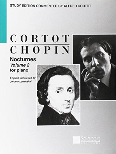 Nocturnes Op 37, 48, 55, 62 - Volume 2 Piano par Frédéric Chopin