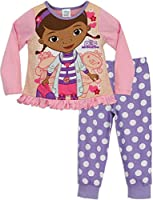 Doc McStuffins Girls Disney Doc Mcstuffins Pyjamas From Age 12 Months to 6 Years