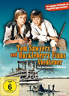 Tom Sawyers und Huckleberry Finns Abenteuer (2 DVDs) - Die legendären TV-Vierteiler