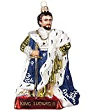 Christbaumschmuck von Gartenschätze- Tannenbaumschmuck König Ludwig 1364