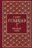Der gro�e Gatsby: Leinen mit Goldpr�gung