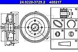 ATE 24.0220-3729.2 Bremstrommel