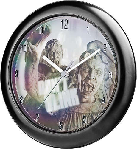 Doctor Who Lenticular Wall Clock Weeping Angel (Shift Dial)