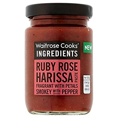 Cooks' Ingredients Ruby Rose Harissa Paste Waitrose 95g by Cooks' Ingredients