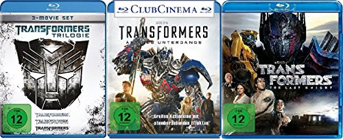 Transformers 1-5 (1-3 + 4 + 5) im Set - Deutsche Originalware [6 Blu-rays]