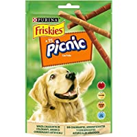 Purina - Friskies Picnic Pollo Snacks para Perro - Pack de 8 x 126 g - Total 1008 g