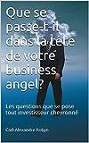 Telecharger Livres Que se passe t il dans la tete de votre business angel Les questions que se pose tout investisseur chevronne Business Angels Vade Mecum t 1 (PDF,EPUB,MOBI) gratuits en Francaise